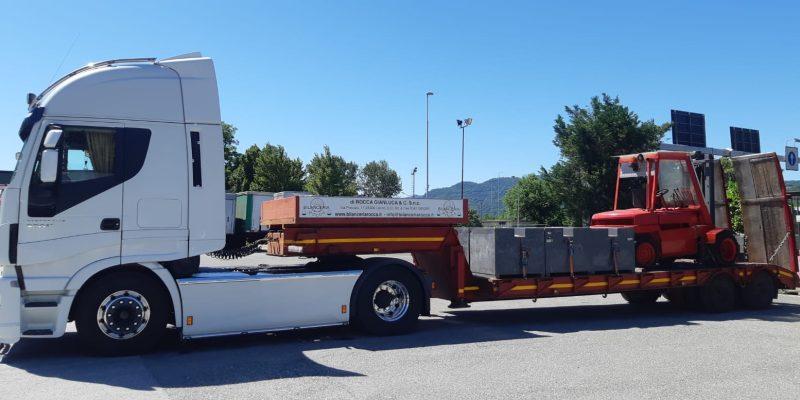 camion con pesi
